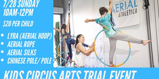 Kid's Circus Arts Trial Event