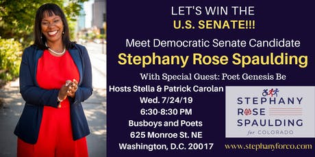 Win the 2020 Senate: Meet U.S. Senate Candidate Stephany Rose Spaulding tickets