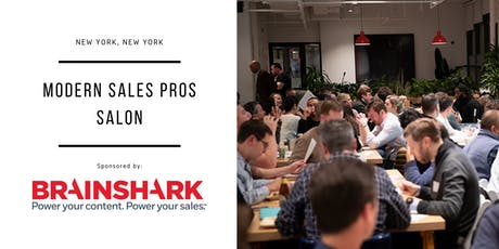 Modern Sales Professionals Salon - New York City - Brainshark tickets