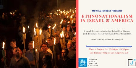 Ethnonationalism in Israel & America tickets