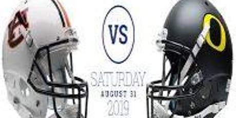 August 31, 2019, AdvoCare Classic: Auburn VS Oregon tickets