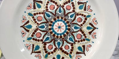 Mandala Workshop-Paint & Sip (BYOB) $40 per piece at the event.