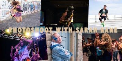 Photoshoot at Zumba Fest UK '19 with Sarah Kane