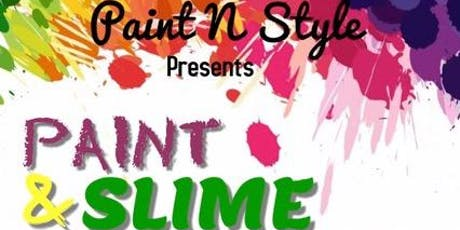 Paint & Slime Party  tickets