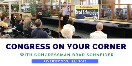 Congress On Your Corner: Riverwoods tickets