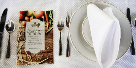 Long Table Dinner 2019 tickets