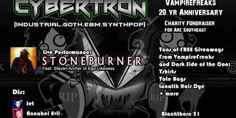 Cybertron w/ Stoneburner - 20 Yrs of VF, Charity Fundraiser tickets