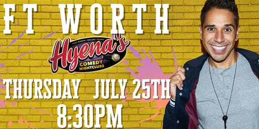 FREE TICKETS! Hyenas Comedy Club - 07/25 - Stand Up Comedy Show