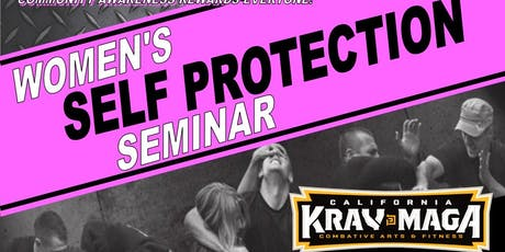 Women's Self Protection Seminar July 19th tickets