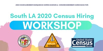 South LA 2020 Census Hiring Workshop