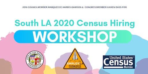 South LA 2020 Census Hiring Workshop