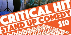 Critical Hit! Live Stand Up Comedy Every Saturday in Oakland