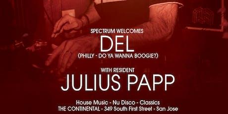 SPECTRUM ft. DEL & Julius Papp tickets
