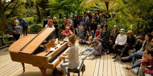 Twelve Piano Extravaganza with UCSF Housing