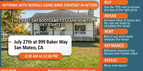 How to Invest Correctly when Investing Remotely-BRRR Strategy in Action tickets