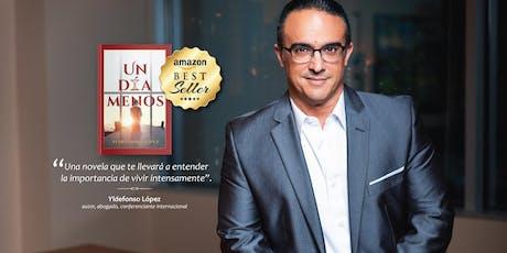 Presentación libro Un día menos de Yldefonso López tickets