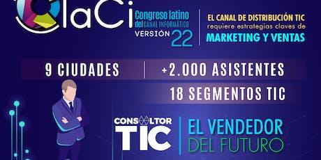 Claci Medellín entradas