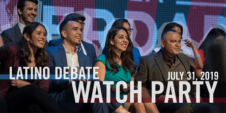 Latino Debate Watch Party!  tickets