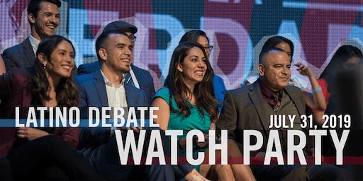 Latino Debate Watch Party!