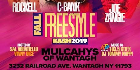 Mulcahy's Fall Freestyle Bash W/ Rockell -- C-Bank -- Joe Zangie tickets