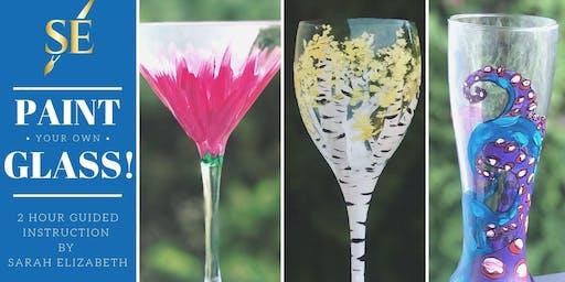Paint & Sip: Wine or Beer Glass!