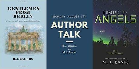 Author Talk tickets