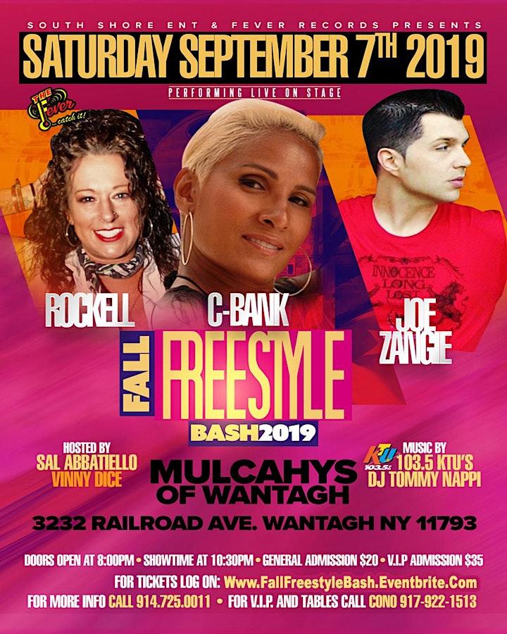 Mulcahy's Fall Freestyle Bash W/ Rockell -- C-Bank -- Joe Zangie image