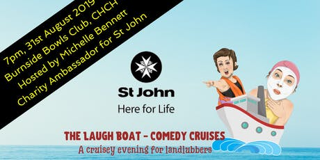 The Laugh Boat - Comedy Cruises (hosted by Michelle Bennett - St John) tickets
