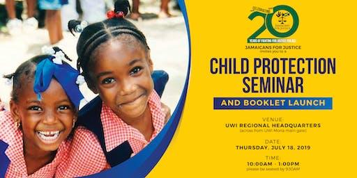 JFJ Child Protection Seminar & Booklet Launch