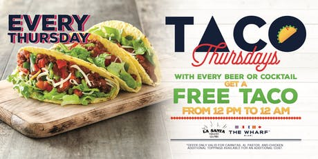 Taco Thursdays! FREE TACO with every beer! tickets
