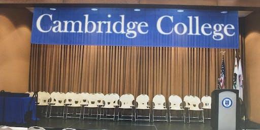 Cambridge College 2019 VIP Graduation Reception