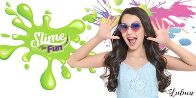 Oficina de Slime com Luluca na Loja Slime for Fun - 28 de Julho