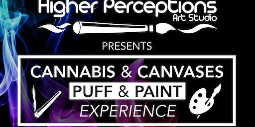 !!Cannabis and Canvases Puff-n-Paint Experience !!