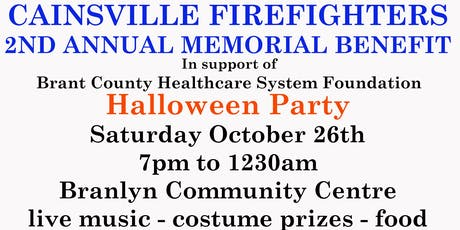 Cainsville Firefighters Halloween Benefit tickets
