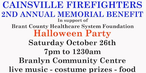 Cainsville Firefighters Halloween Benefit