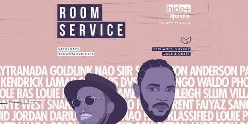 HIDE + SEEK presents Room Service Jul 20