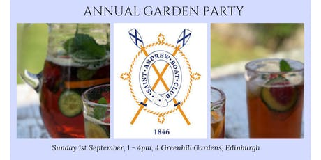 St Andrew Boat Club Annual Garden Party tickets