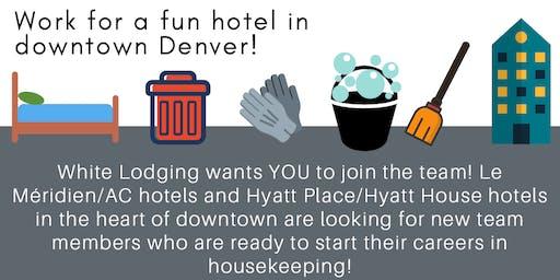 Housekeeping Job Fair at Le Meridien Hotel downtown!