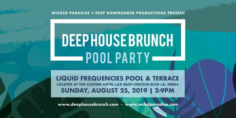 Deep House Brunch POOL PARTY tickets
