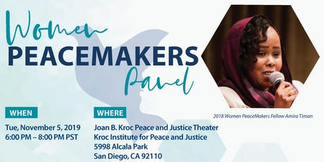The 2019 Women Peacemakers Panel tickets