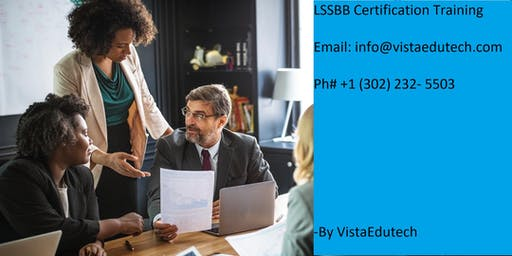 Lean Six Sigma Black Belt (LSSBB) Certification Training in Columbus, OH