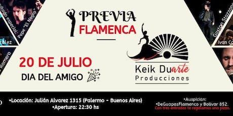 Previa Flamenca entradas
