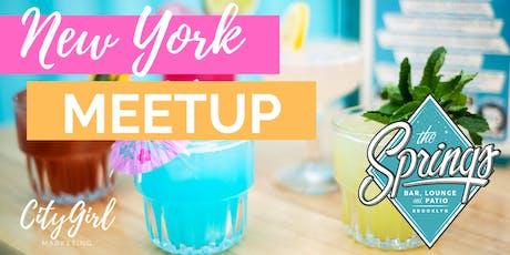 New York Meetup tickets