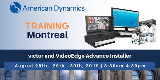 American Dynamics | victor and VideoEdge Advance Installer