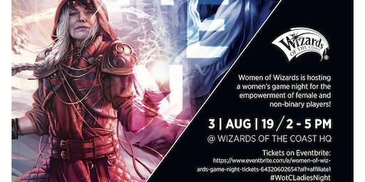 Women of Wizards Game Night