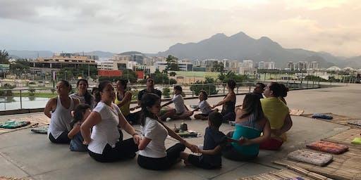Yoga para Paz na Cidade das Artes