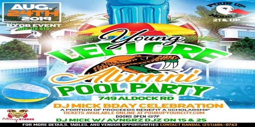 Leflore Young Alumni End of Summer Pool Party / Bday Bash