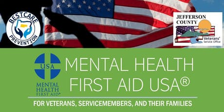 Mental Health First Aid for Veterans and their Families tickets
