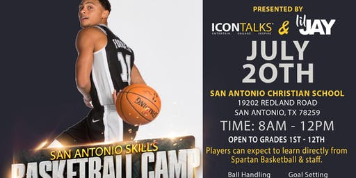 San Antonio Skills Basketball Camp - Bryn Forbes