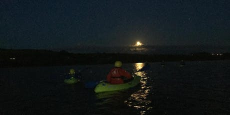 Kayaking by moonlight on Wednesday 17th July from Twomilegate at 9.30pm tickets